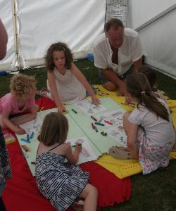 Summer Show - Children's Colouring Competition