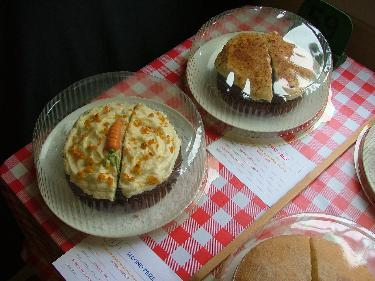 Carrot cake entries