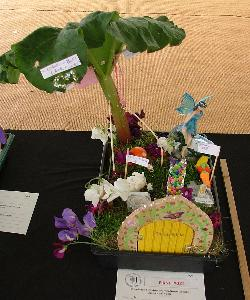 Miniature fairy garden by Isabelle Smith